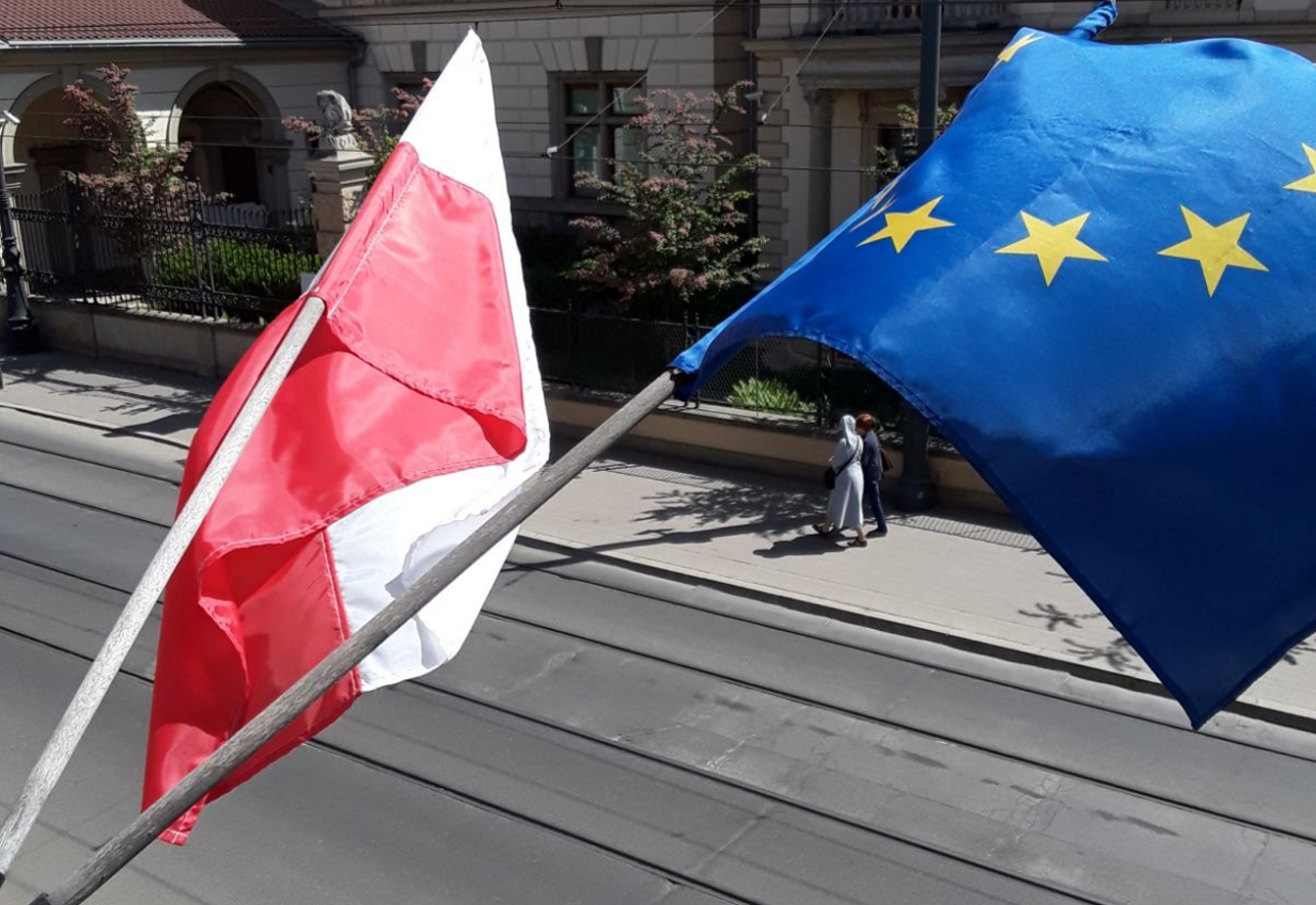 After Brexit Support Flag Day in Poland