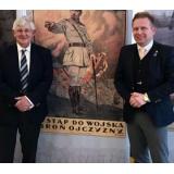 General (Retd.) John Drewienkiewicz (GeneralDZ) CB pictured with the After Brexit Support Managing Director Tomasz Wisniewski.